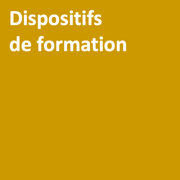Titre dispositifs de formation